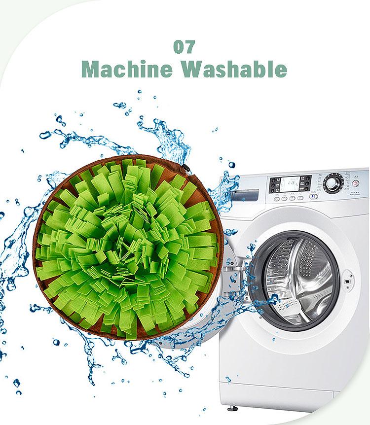 machine washable sniffing mat