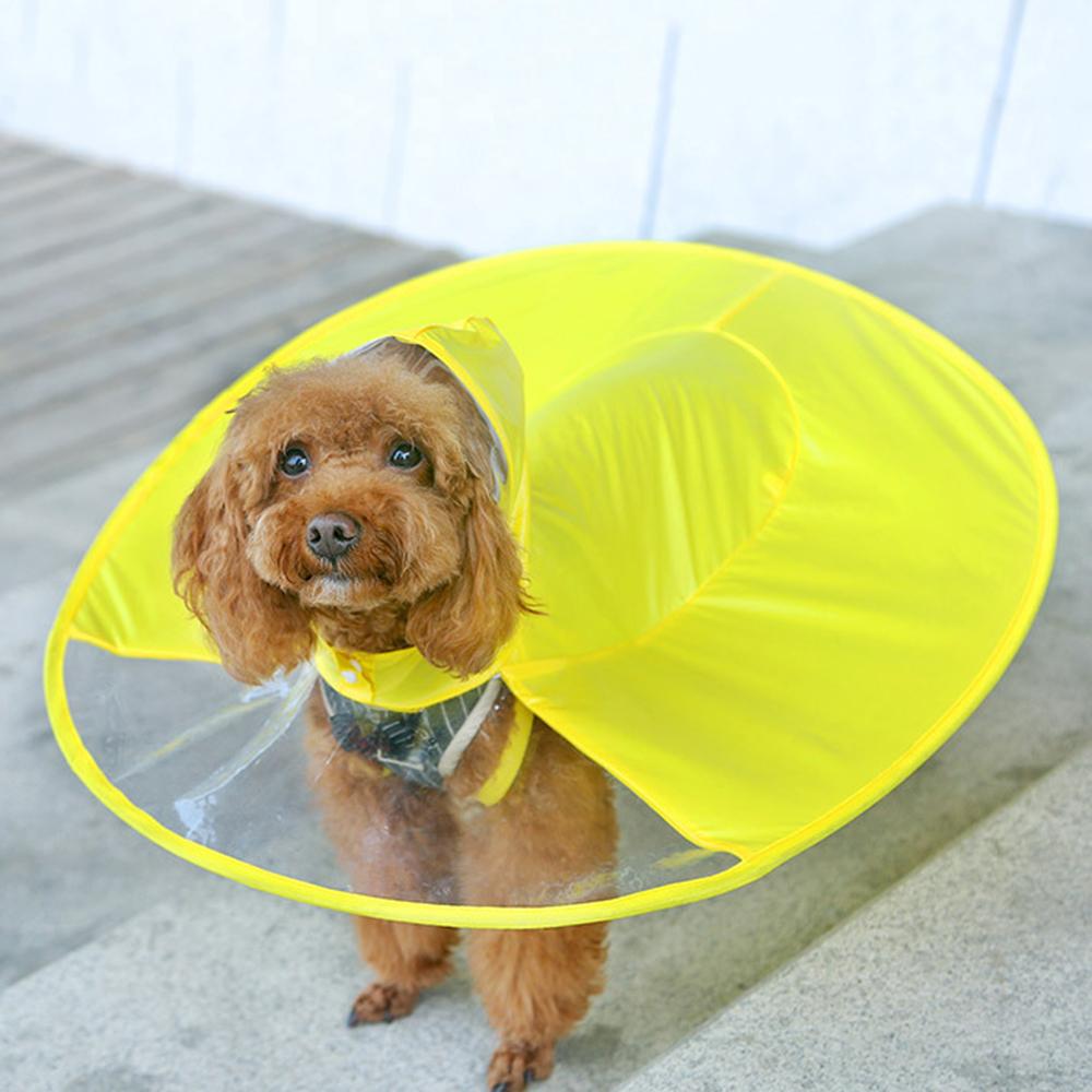 Yellow Dog Raincoat, dog raincoat with Hood,small dogs raincoat, puppy raincoat, dog poncho, dog rain poncho