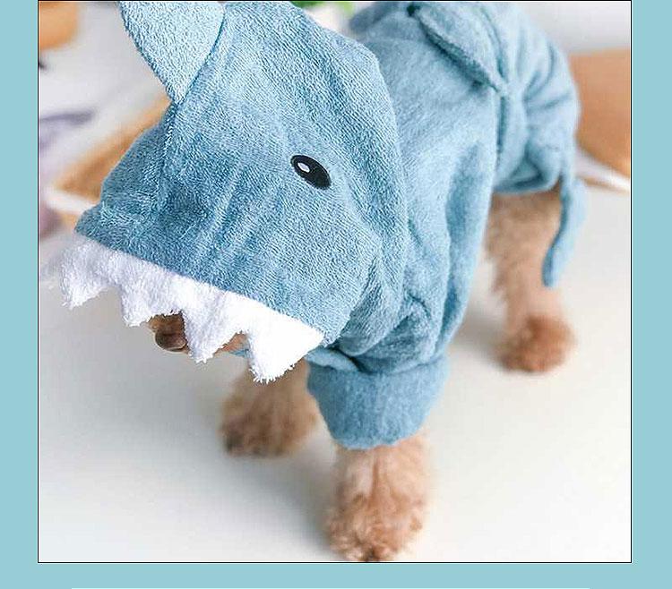 dog towel robe