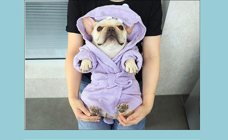 dog towel robe uk