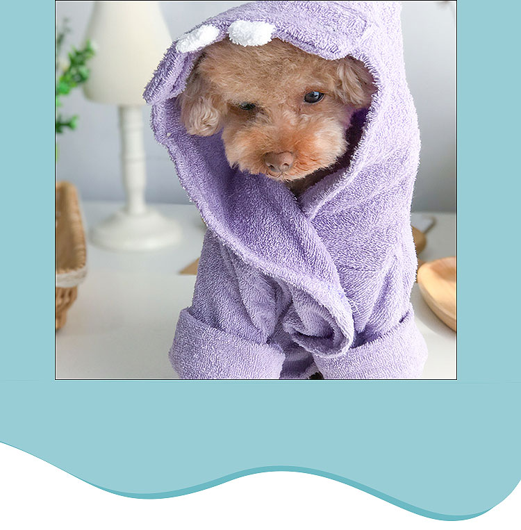 dog bathroom towels