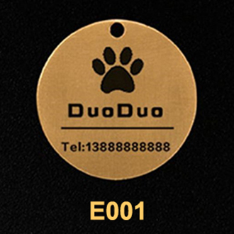 Available Sizes of Personalized Dog Tags