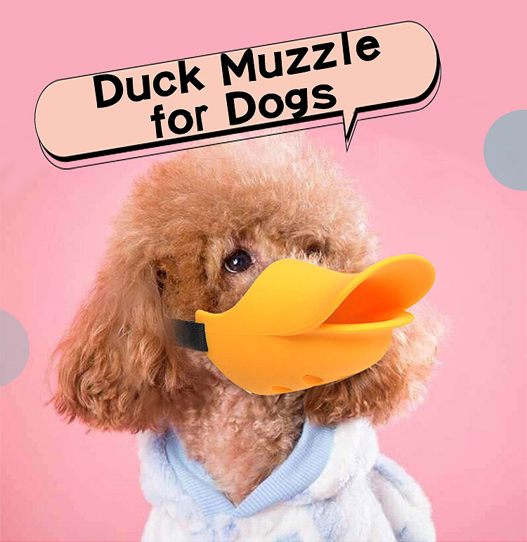 duck muzzle for dogs