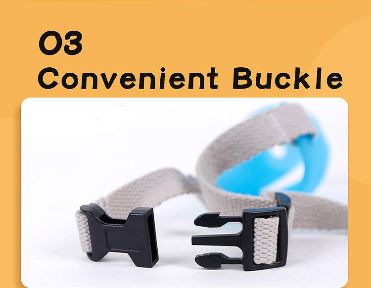 convenient buckle