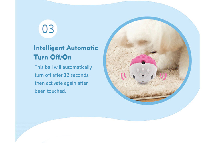automatic and energy-saving dog ball toy