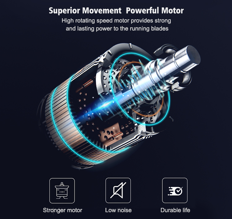 Superior movement, powerful motor