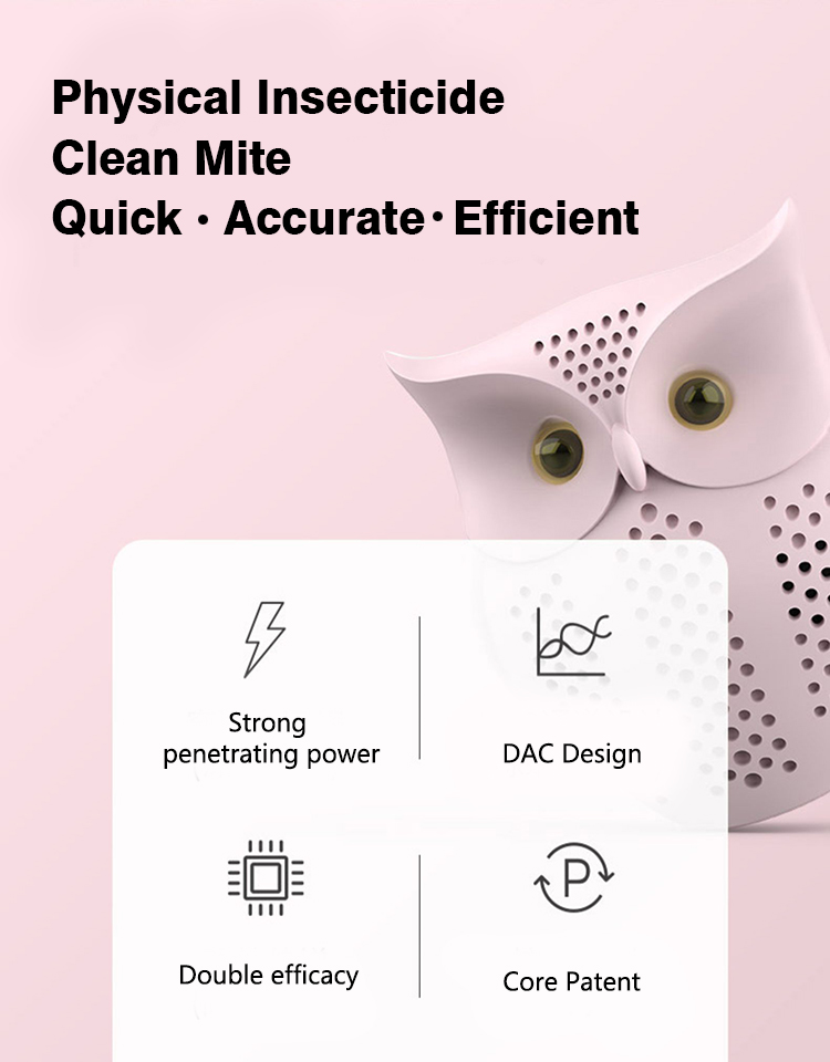 Quick, accurate, efficient clean mite