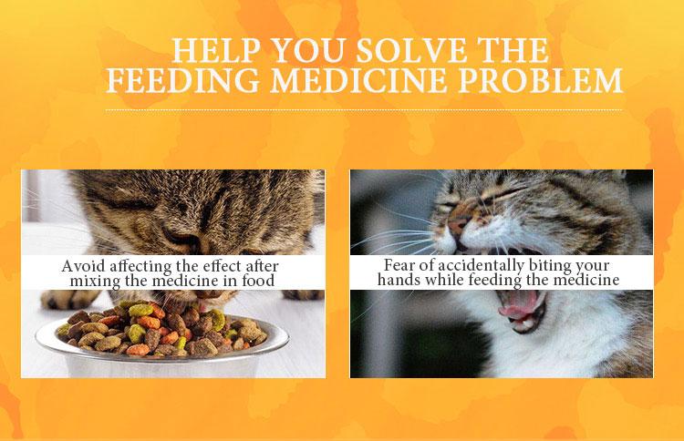 HELP YOU SOLVE THE FEEDING MEDICINE PROBLEM