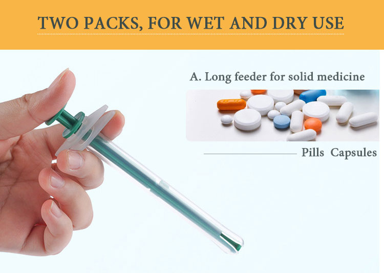 TWO PACKED, FOR WET AND DRY USE