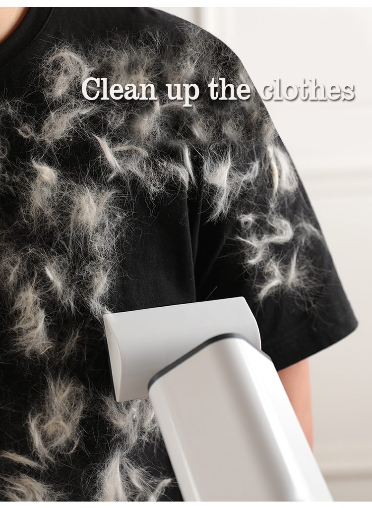 it can clean up the clothes