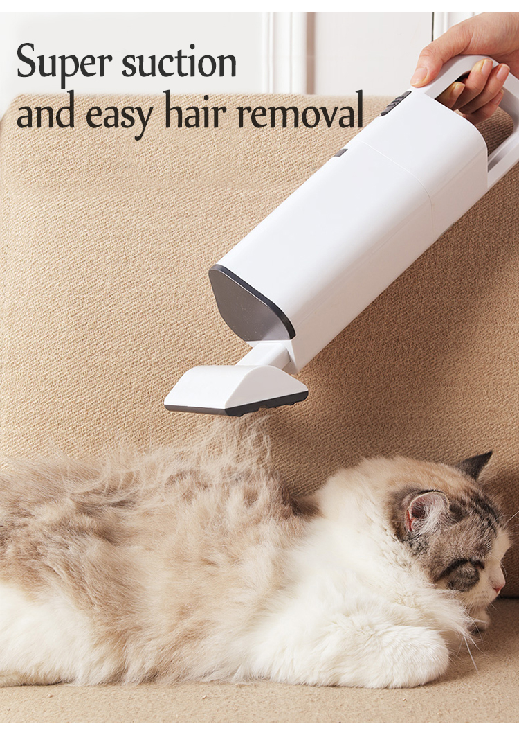 super suction and easy hair removal