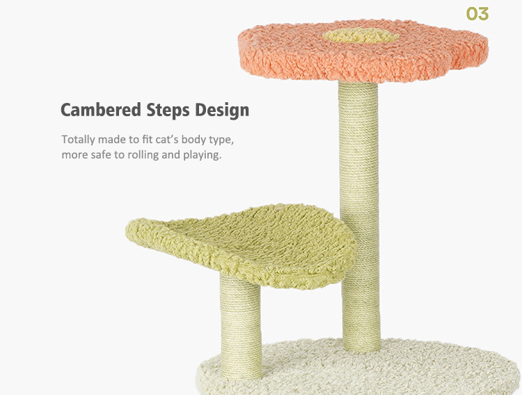 Cambered Steps Design